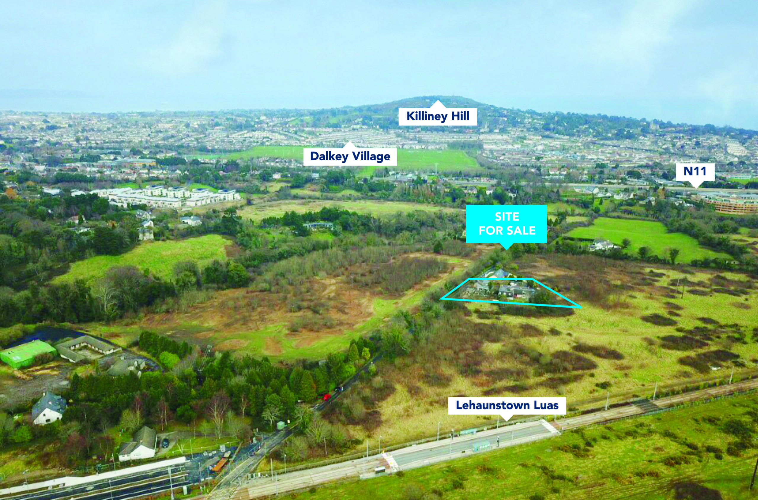 Development Site For Sale – Lehaunstown Dublin 18
